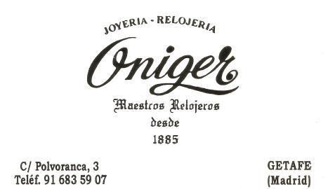 joyeria Oniger