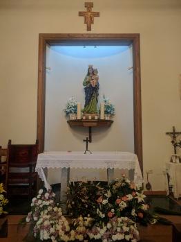 Santa Maria del fresno altar